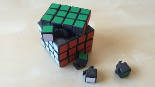 4x4 Rubik's Cube Disassembly and Assembly Tutorial (v2)