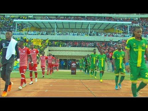 Yanga ilivyoichapa Simba 1-0 mbele ya Rais Magufuli