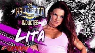 2014 WWE Hall of Fame Inductee: Lita: Raw, Feb. 10, 2014