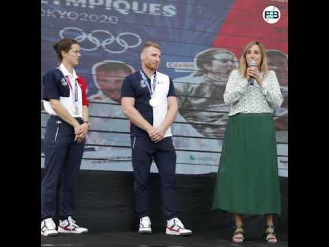 Rencontre avec les champions olympiques Tokyo 2020