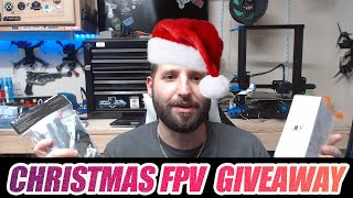 Christmas FPV Frame GIVEAWAY! - Ummagawd Remix & Rotor Riot CL1