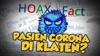 Hoax or Fact: Warga Klaten Terpapar Virus Corona?