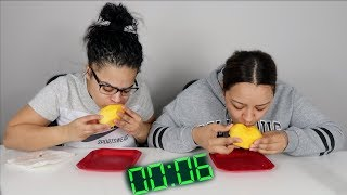 SPEED EATING CHALLENGE!!! *IMPOSSIBLE*