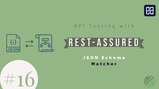 Part 16 - JSON Schema matcher with RestAssured for API testing