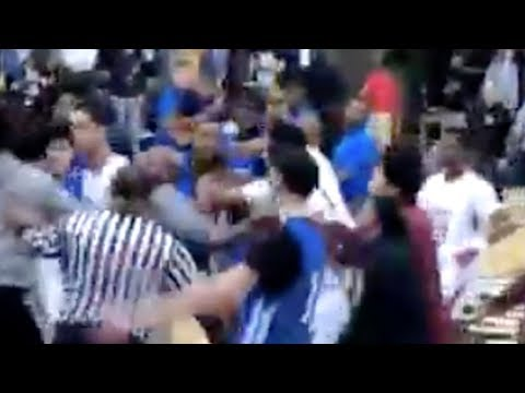 Lamelo Ball Spire FIGHT Breaks Out & CLEARS BENCH After Crazy Dunks!