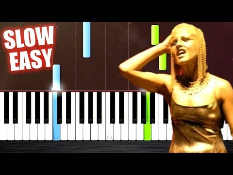 The Cranberries - Zombie - SLOW EASY Piano Tutorial by PlutaX