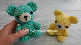 Crochet Your Own Mini Bear Part 1 Head