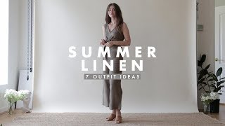 Outfit Ideas - Summer Linen Outfits Inspiration | Dearly Bethany