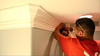 Two Piece Crown Moulding - How To Install The Base Trim