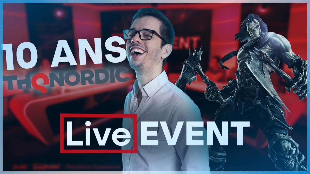 Les 10 ANS de THQ NORDIC | LIVE EVENT
