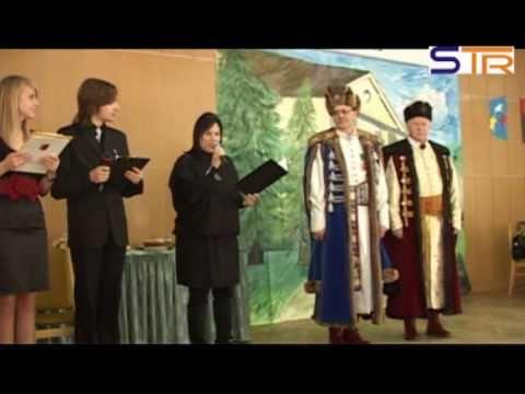 II Międzyszkolny Konkurs Poloneza Maturzystów (od 2:45)