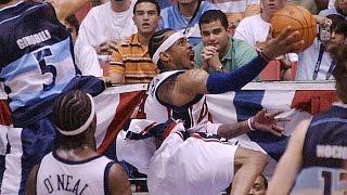 Argentina vs USA 2003 FIBA Americas Championship Quarter Final Round game