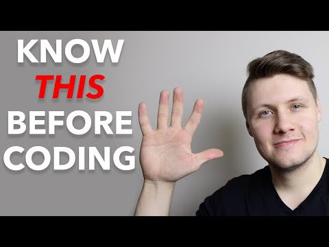 5 Things I Wish I Knew Before Starting Programming