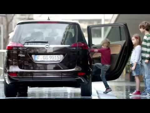 Opel  Zafira Tourer Минивен класса M - рекламное видео 2