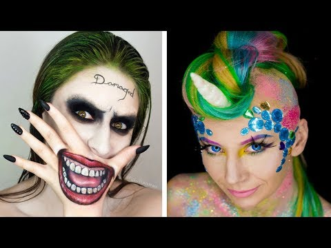 Halloween Makeup Tutorial Horror Compilation By Cake, DIY, Makeup, Hairstyles, Nail Art - Topic