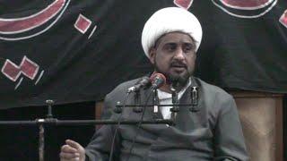 preview picture of video 'الشيخ علي كاظم، يوم استشهاد الزهراء -ع-، موكب البضعة الطاهرة، جامع الرسول، الناصرية'