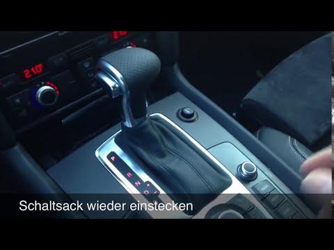 Audi Facelift Schaltknauf tauschen - Artikel: 3843 & 3844 & 3846
