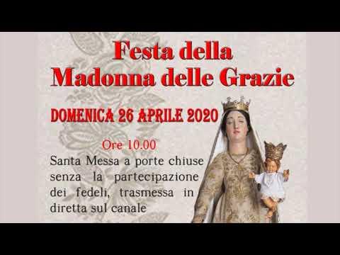 DOLCEDO, FESTA DELLA MADONNA DELLE GRAZIE: DOMENICA 26 APRILE LA MESSA SU YOUTUBE