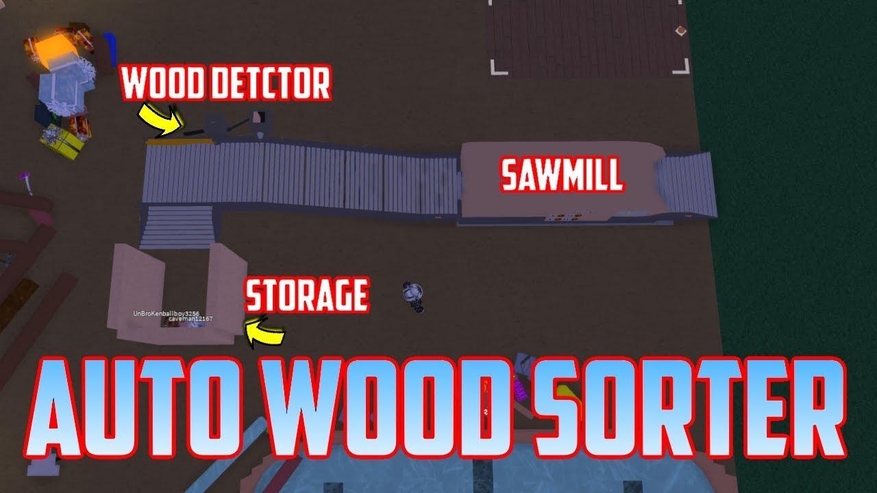 Wood Sorting Sawmill Setup Tutorial! Lumber Tycoon 2