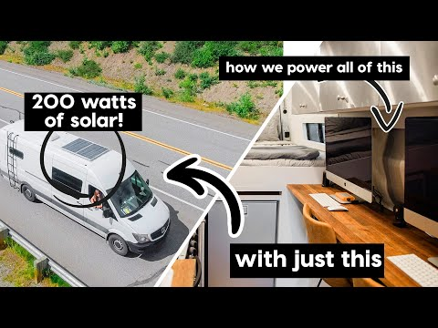 Our Perfect VAN LIFE SOLAR SET UP // We talked with the pros
