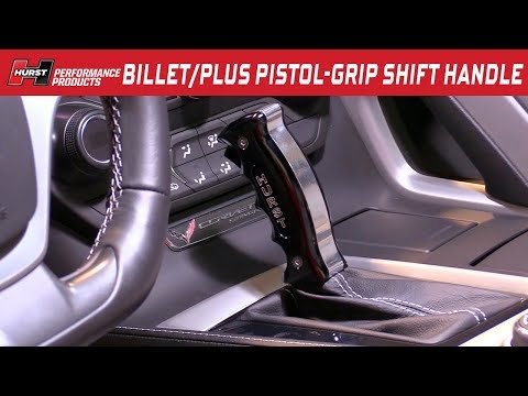 2014-19 Corvette C7 - Billet/Plus Pistol-Grip Automatic Shift Handle