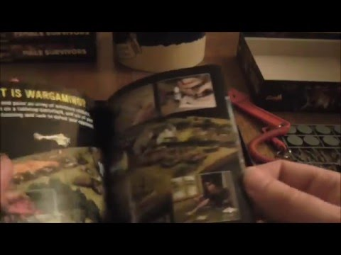 unboxing of PROJECT Z THE ZOMBIE MINIATURES GAME by warlord games