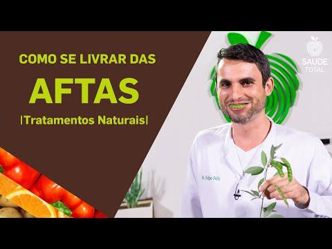 Como se livrar das Aftas | Tratamentos Naturais | Saúde Total