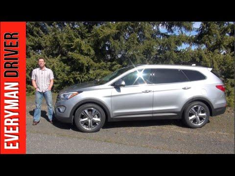 2014 Hyundai Santa Fe DETAILED Review on Everyman Driver