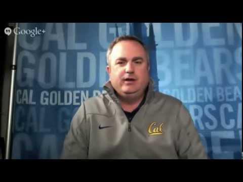 California Coach Sonny Dykes Interview / Jared Goff, Art Kauffman