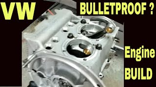 Bulletproof VW engine series 1 vw flat 4 engine vw bug vw bus