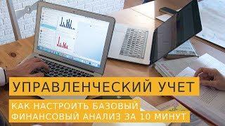 Управленческий учет: как настроить базовый финансовый анализ за 10 минут