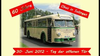 preview picture of video '60 Jahre Obus in Solingen - Tag der offenen Tür am 30. Juni 2012 [HD 720p]'