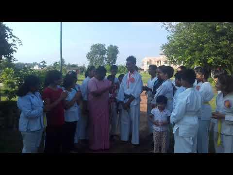Champion Rohit Baskey honoured at school