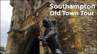preview picture of video 'Southampton Medieval Old Town Walls Video Tour'