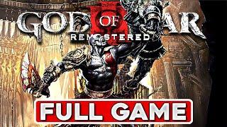 God Of War 3 Remastered Walkthrough - Complete Game Movie 60fps PS4