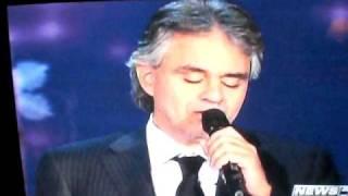 Andrea Bocelli, Mary J. Blige, Oprah, 11.30.09 Ken Bertwell
