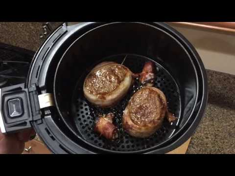 GoWISE USA Air Fryer Filet Mignon