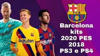 barcelona kits 2019 pes 2018 ps3 - 免费在线视频最佳电影电视