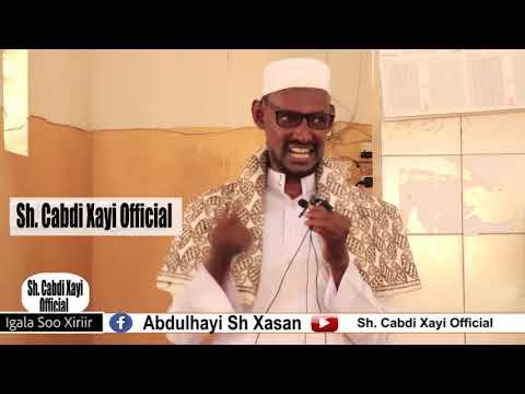 Shekh Cabdi Xayi oo ka hadlaya Kiiska Bada Somaliya ee taala Maxkamada ICJ & waxa laga rabo Somalida