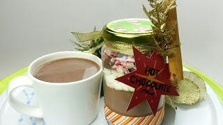 HOT CHOCOLATE JARS (EDIBLE GIFTS)