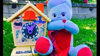 Soft Glowing IGGLE PIGGLE and Retro Clock Toy!