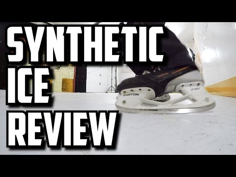 Synthetic Ice Review – HockeyShot Extreme Glide