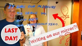 Last Day At Sea! Blue Iguana, Chocolate Extravaganza & Hairy Chest!   Ep. 12 Carnival Ecstasy Cruise