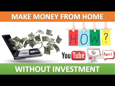HOW TO EARN MONEY FROM HOME WITHOUT INVESTMENT STEP 1