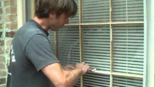 How to Glaze Window Pane.mpg