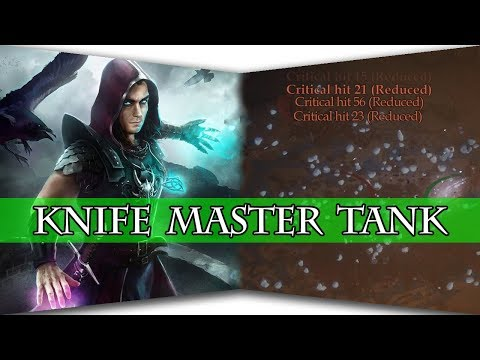 Pathfinder: Kingmaker - Knife Master Tank