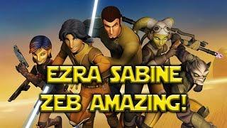 Star Wars: Galaxy Of Heroes - Kits For Ezra Sabine Zeb Look Amazing
