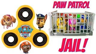 Paw Patrol FIDGET SPINNER Help Get the Pups Out of Jail Learn Colors