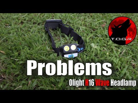 Waving…Good Bye! – Olight H16 Wave Headlamp – Review