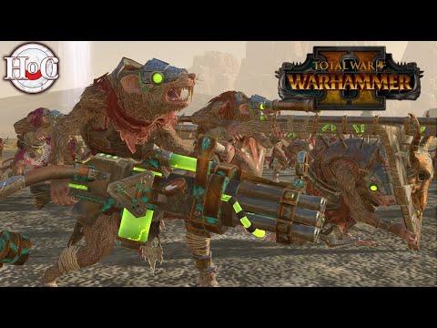 Skaven vs Lizardmen   THE WARLOCK ARRIVES IN STYLE - Total War